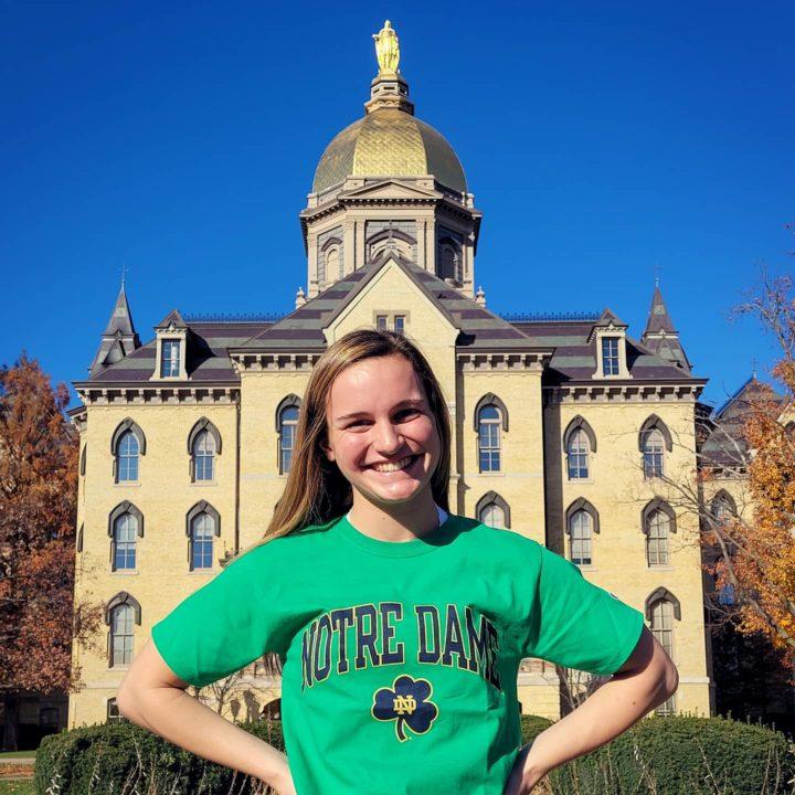 Grace Brenneman (2022) Sends Verbal Pledge to Notre Dame