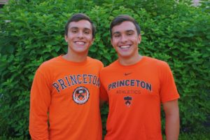 Twins Taso and George Callanan (2021) Verbally Commit to Dive at Princeton