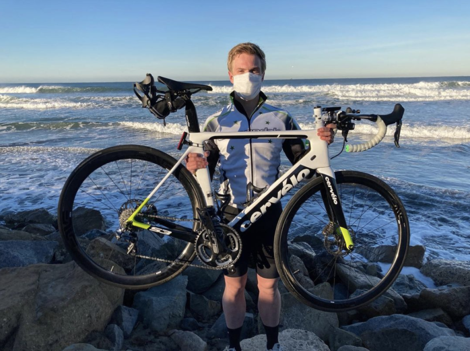 SSPC: Swimmer Matthew Marquardt Cycling Across the US to Raise Money for Cancer