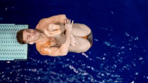 Tennessee Sweeps Second Day of Georgia Diving Invitational