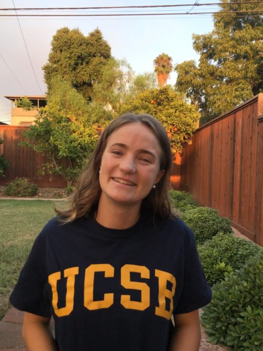 2019 CIF Para-Athlete Runner-Up Grace Soares Lockwood Sends Verbal to UCSB