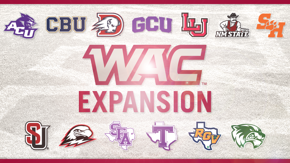 Western Athletic Conference Announces Five-School Expansion