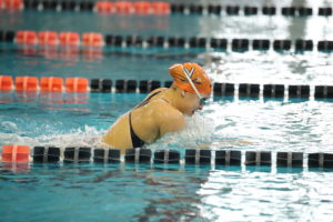 Virginia Women Break NCAA Record in 200 Medley Relay to Open ACC Championships