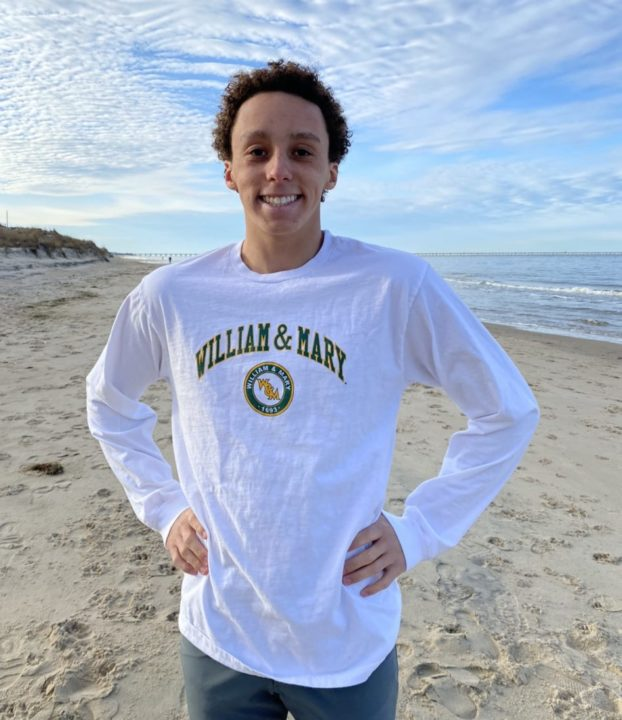 William & Mary Reels In 2:02 Breaststroker Noah Spain of TIDE Swimming