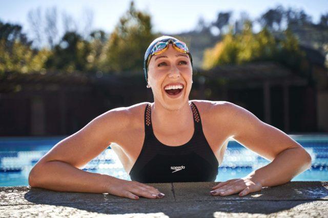 BEX0130510 640x427 Speedo Signs Abbey Weitzeil To Swimwear Partnership 8211 SwimSwam