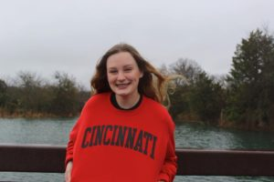Rockwall (TX) Distance Specialist Abi Carroll Verbals to Cincinnati