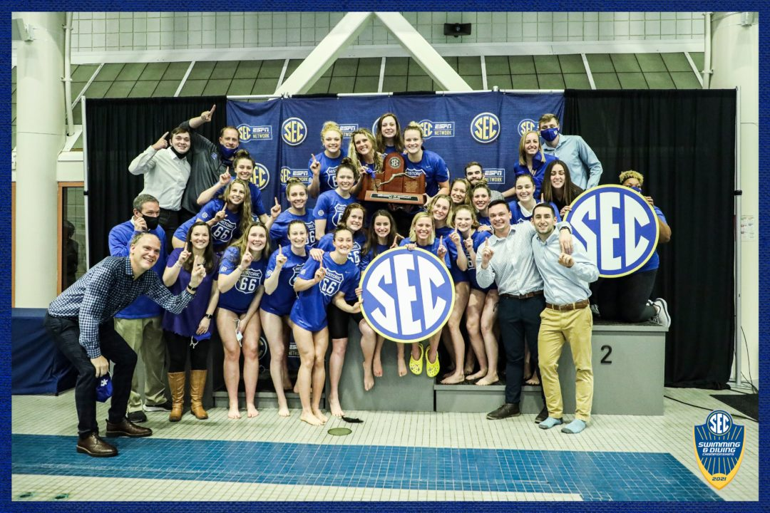 2021 SEC Women's Championships Scoring Breakdown