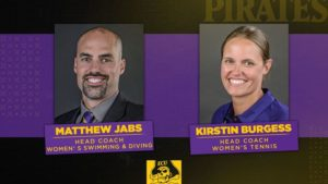 East Carolina Re-Hires Matthew Jabs to Lead Reinstated Women's Swimming Program