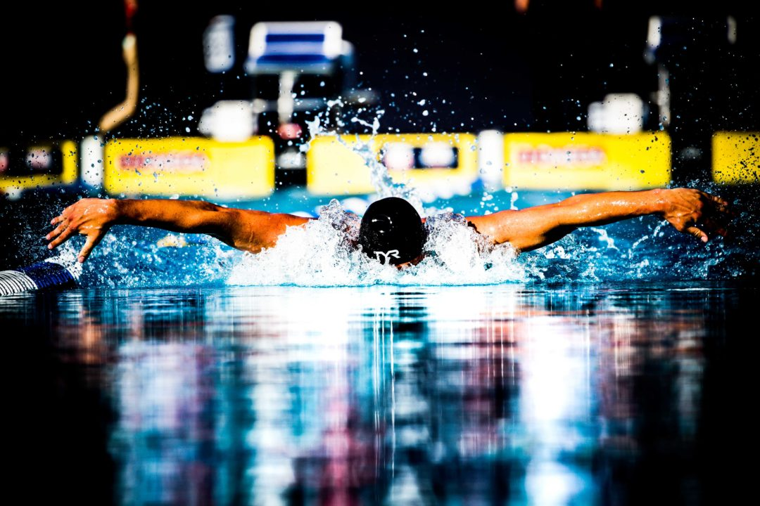 Caeleb Dressel And Ryan Lochte Battle in 400 IM Prelims at ISCA Cup