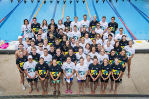 Australian National Team Competes in Surprise Relay Meet