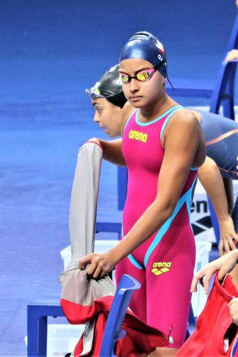 15-Year Old Sasha Gatt Breaks Maltese National Record in 400 Free by 5 Seconds