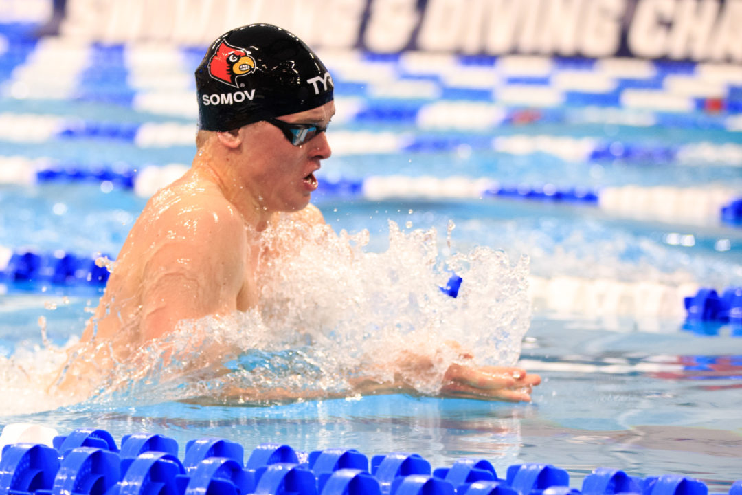 Louisville's Evgenii Somov Leaving NCAAs Early For Russian Olympic Trials