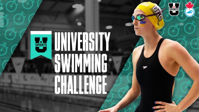 U SPORTS, Swimming Canada Partner To Host 2021 University Swimming Challenge