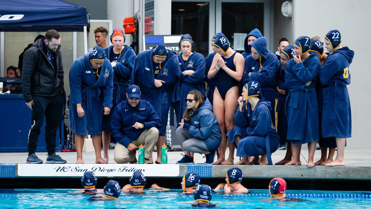 UC San Diego Women's Water Polo Ranked 10th in Preseason