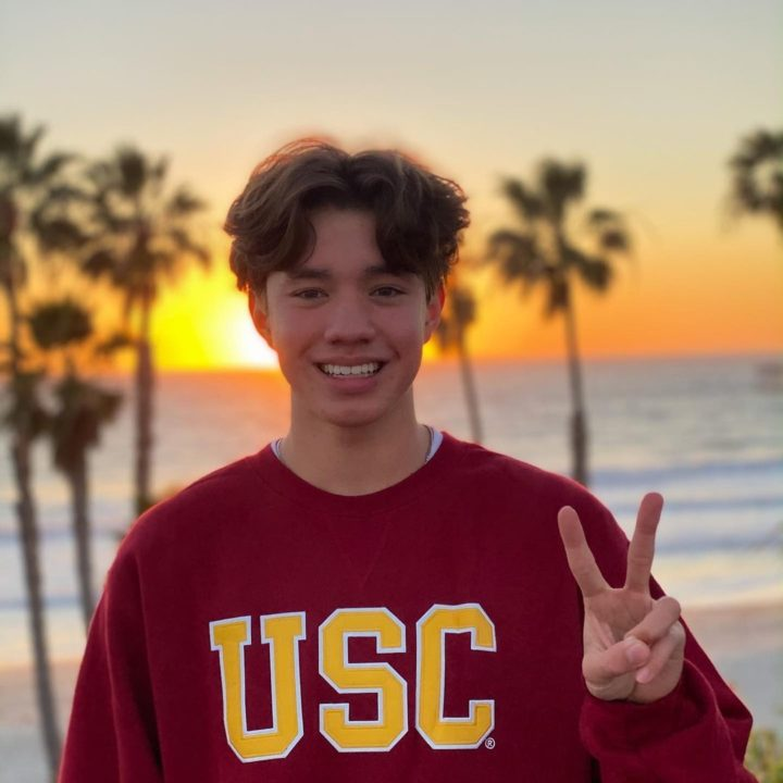 PSS Richmond 400 Free Runner-Up Anders Aistars Verbals to USC (2022)