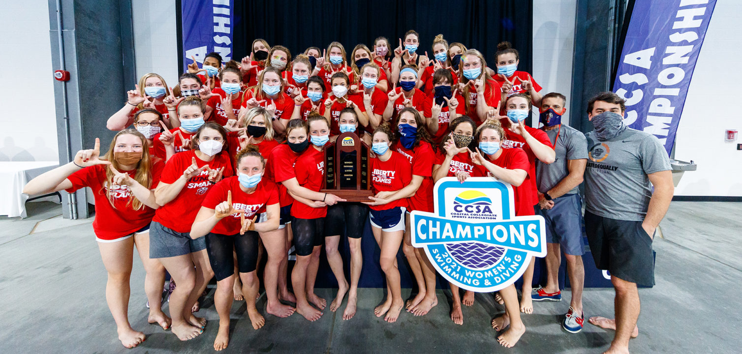 Liberty Earns 5 VaSID All-State Swimming & Diving Honors