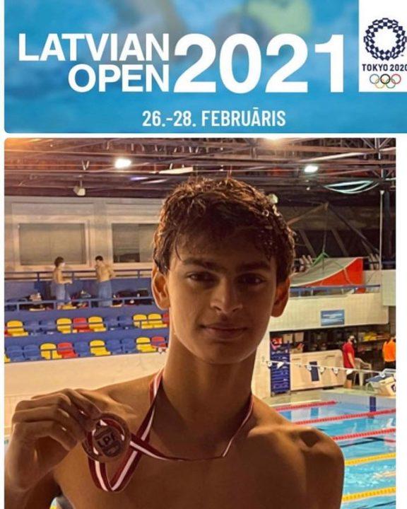 Actor R Madhavan Ke Bete Vedant Ne Jeeta Bronze-Latvian Open Swimming Champion