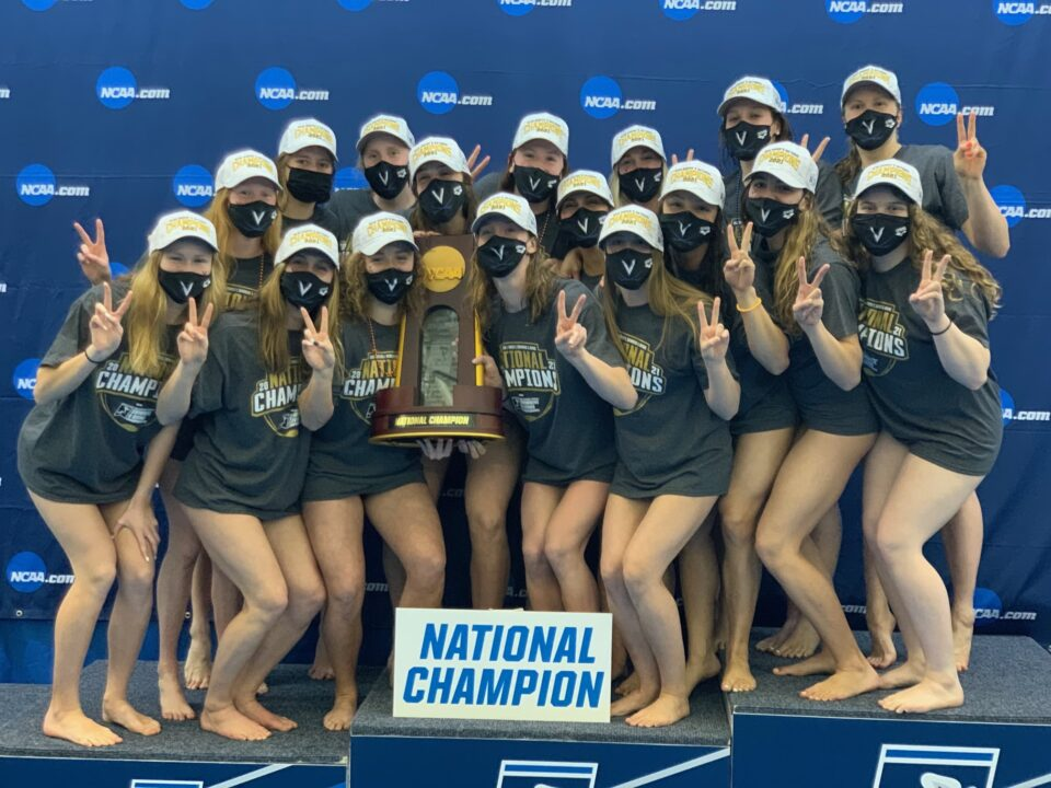 Virginia Women Win First NCAA Swimming & Diving Championship in ACC History