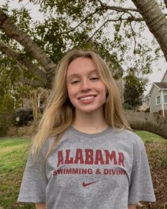North Carolina 3A 200 IM Champion Alison Thome Verbals to Alabama (2022)