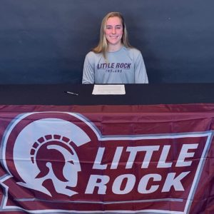 Metroplex Sprinter Jaelle Carlson Signs with Arkansas-Little Rock
