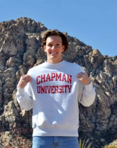 Chapman University Picks Up Verbal from Nevada 3A Bronze Medalist Bryce Grover