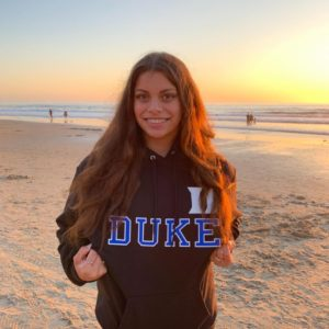 #19 Isabella Abrajan of MVN Verbally Commits to Duke for 2022
