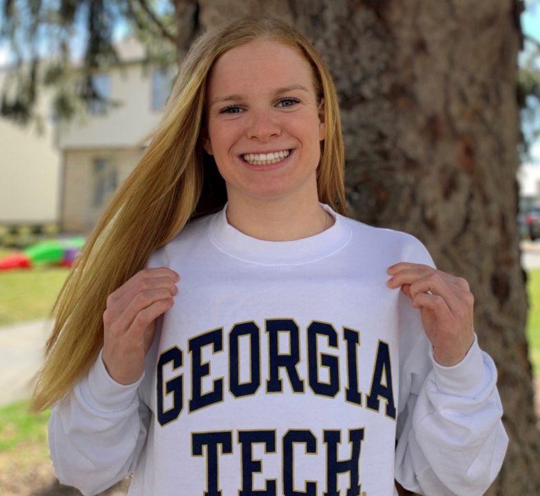 Ohio HS Sprint Champion Caroline Porterfield (2022) Commits to Georgia Tech