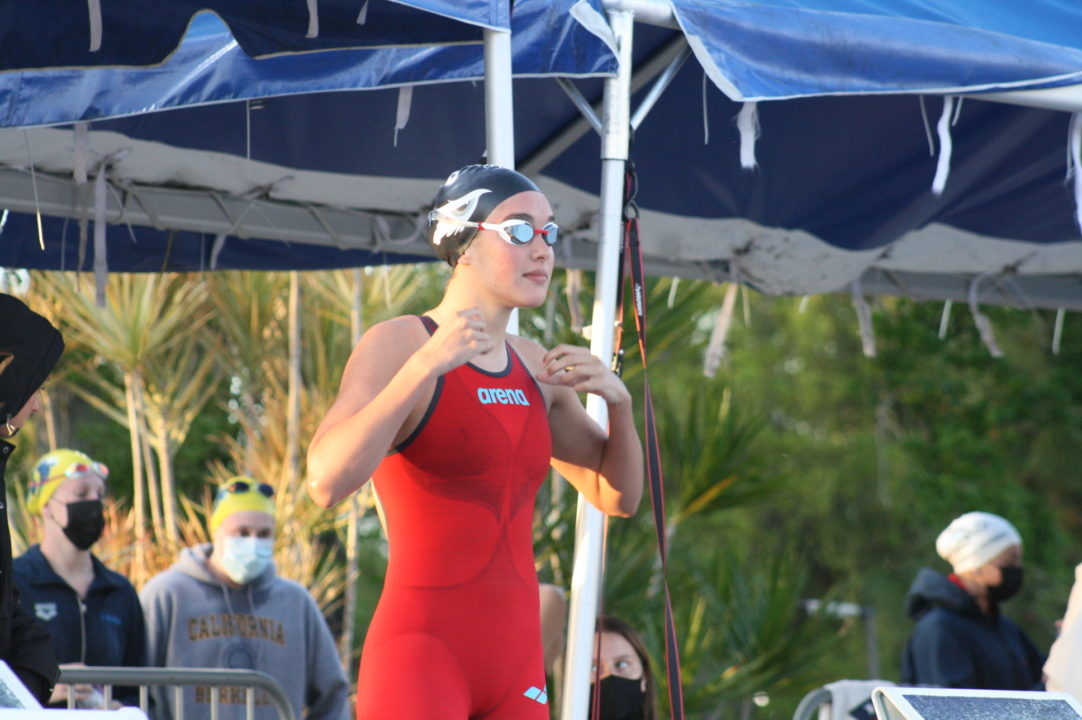 14-Year Old Erika Pelaez Hits Olympic Trials Wave 2 Cut in 100 Free – 55.51