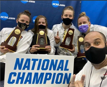 NC State Women Break Down US Open, NCAA Record-Setting 400 Medley Relay