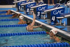 Kate Douglass Jumps Up To #3 All-Time With ACC Record 21.09 In 50 Free