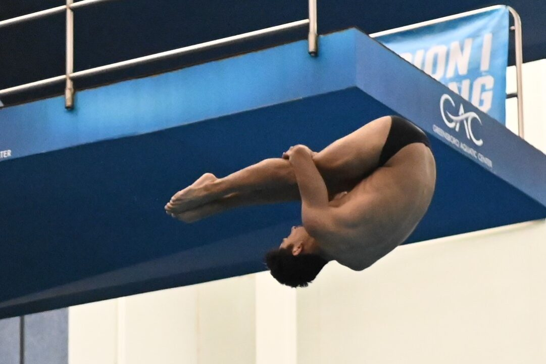 2021 NCAA Men's Championships Day 3: UNC Steals the Show in 3m Diving Prelims