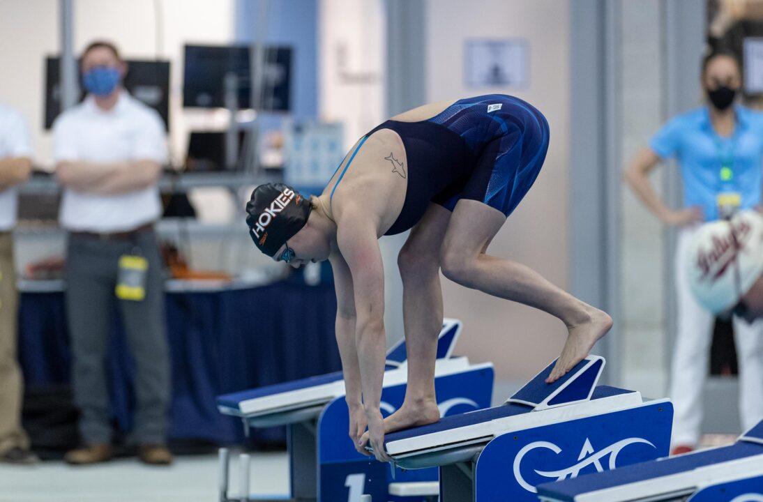 Emma Atkinson's 200 Back Ties Highest Women's NCAA Finish In VT History