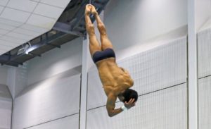 O'Neil, Windle Capture Big 12 Championship Day 1 Diving Titles
