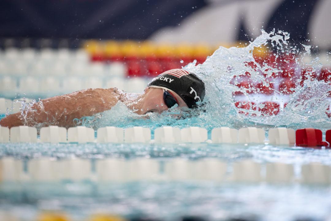 Pro Swim Ledecky 1:56 Nei 200 Stile Risultati Completi Terzo Giorno