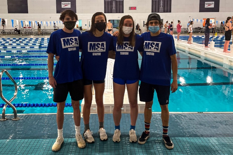 Mecklenburg Swim Assn Breaks 15-18, 17-18 NAG Records for Mixed 200Y Free Relay