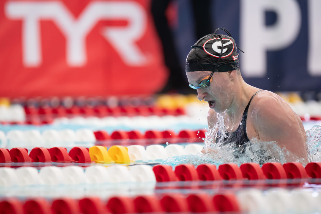 Melanie Margalis Negative Splits 400 IM at San Antonio