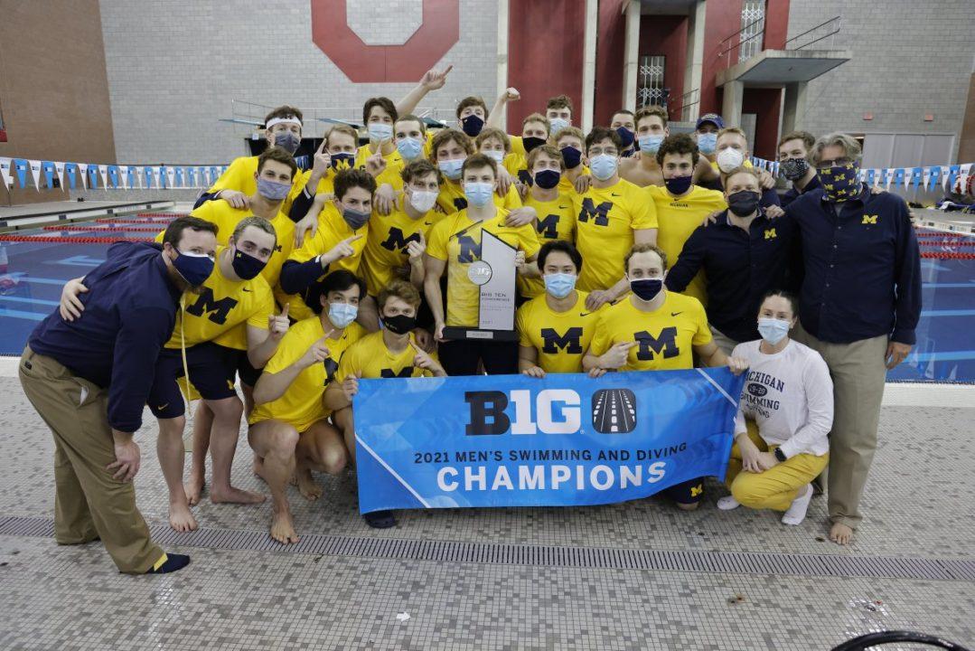 Michigan Men Defend Big Ten Team Title, Earns 42nd Title in Program History