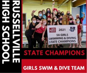 Russellville Win First Girls State Title, Boys Repeat in Arkansas 5A