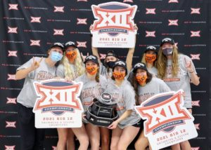 Texas Women Collect 9th Straight, 19th Ever Big 12 Team Title