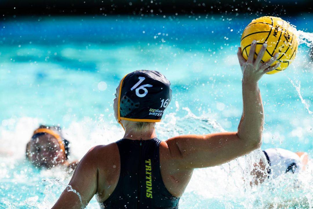 UC San Diego Women's Water Polo Falls Short of Comeback Bid Against UC Irvine