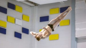 UNCW and James Madison Top Diving Events at CAA Championships