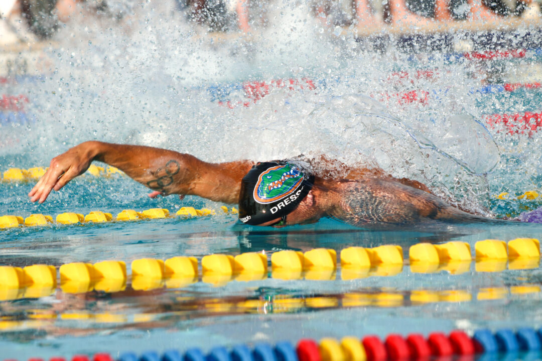 Dressel Wins 50 Free (22.33) After Scratching 50 Breast On Night 2 of ISCA Cup