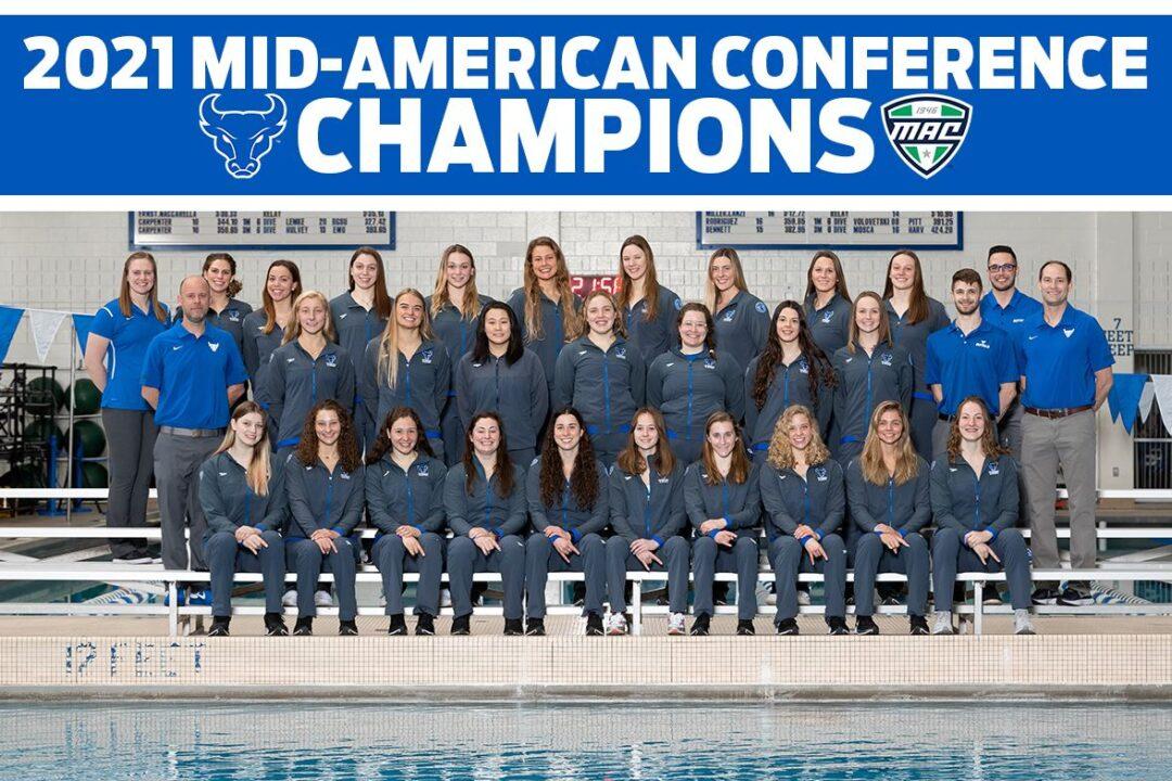 Buffalo Wins First Women's MAC Title in Program History, Snaps Akron's Streak