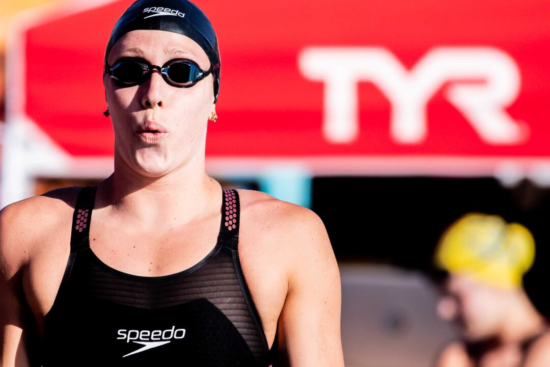Abbey Weitzeil Explains Training for a No-Breather LCM 50 Free
