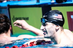 Andrew Wilson Posts New PB 58.80 100 Breast, Now #3 American All-Time