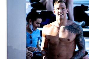 Caeleb Dressel Entered in 200 Freestyle at 2021 US Olympic Trials