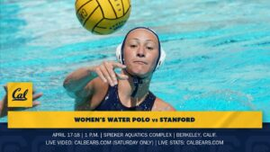 No. 4 Cal Women Host No. 2 Stanford In Big Women's Water Polo Matchup