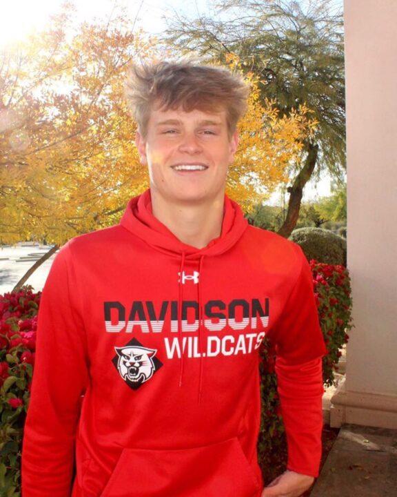 Davidson Picks Up 56.4 Breaststroker Andrew Schou from FAST (AZ)