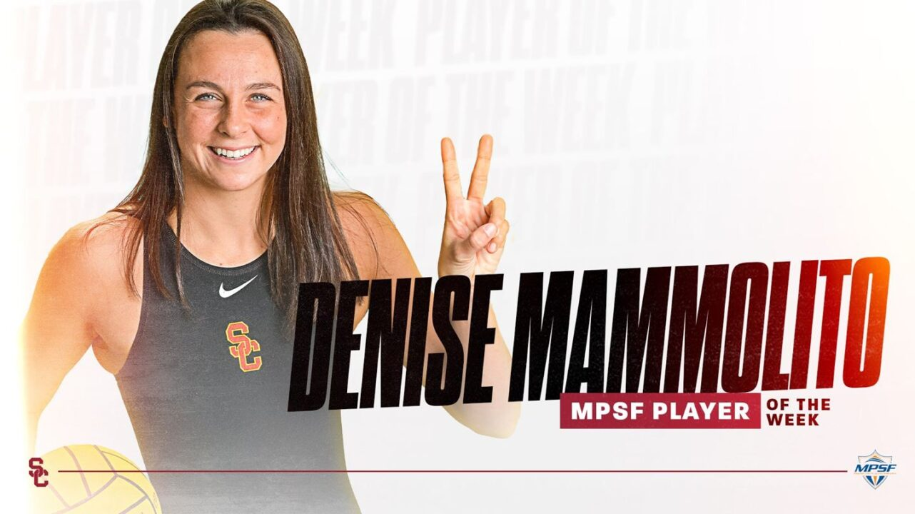 After 10 Goals In Two Games, USC's Mammolito Named MPSF Player of the Week