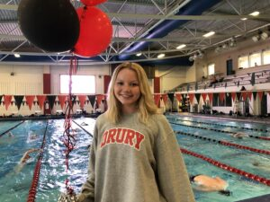 Drury Adds RAC AquaHawgs' Aisling Allen for 2021-22